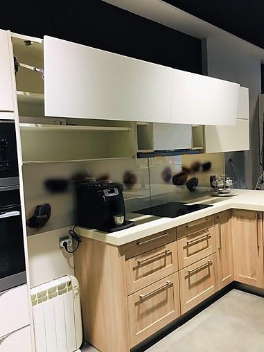 Sch ller cocina de exposici n cocina bicolor blanco madera cocina de exposici n en donostia - Cocinas san sebastian ...