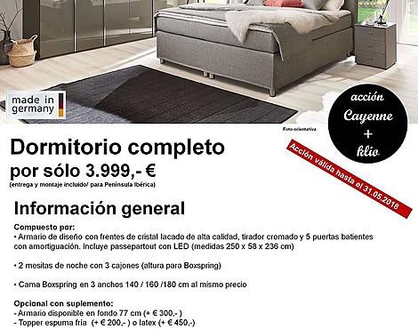 venta de muebles - dormitorio: muebles de dormitorio reducido
