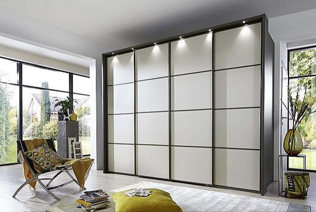 Armarios multiplus armario vestidor de lujo con 4 puertas for Armario de 4 puertas correderas conforama