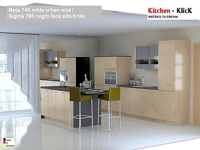 Kitchen-Klick ofrece un reducido y fácilmente manejable catálogo de producto, seleccionando producto de gran calidad