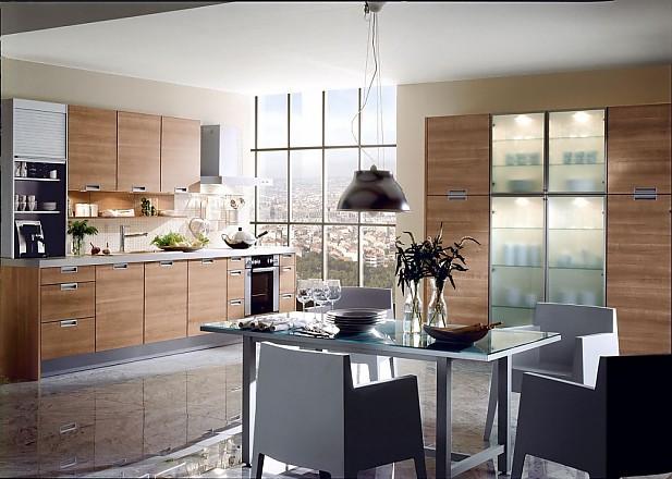 Fotos de cocina para inspirarse en la galer a de cocinas p gina 17 - Cocinas con puertas de cristal ...