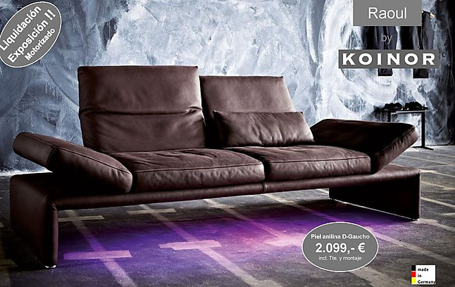 sof s raoul liquidaci n sofa de lujo made in germany koinor m bel von habitat ksc in las matas. Black Bedroom Furniture Sets. Home Design Ideas