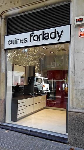 Forlady cocina de exposici n forlady cocina moderna - Muebles cocina forlady ...