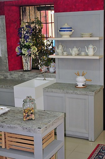 Dica cocina de exposici n mobiliario de cocina arkadia de for Cocinas en oferta precios