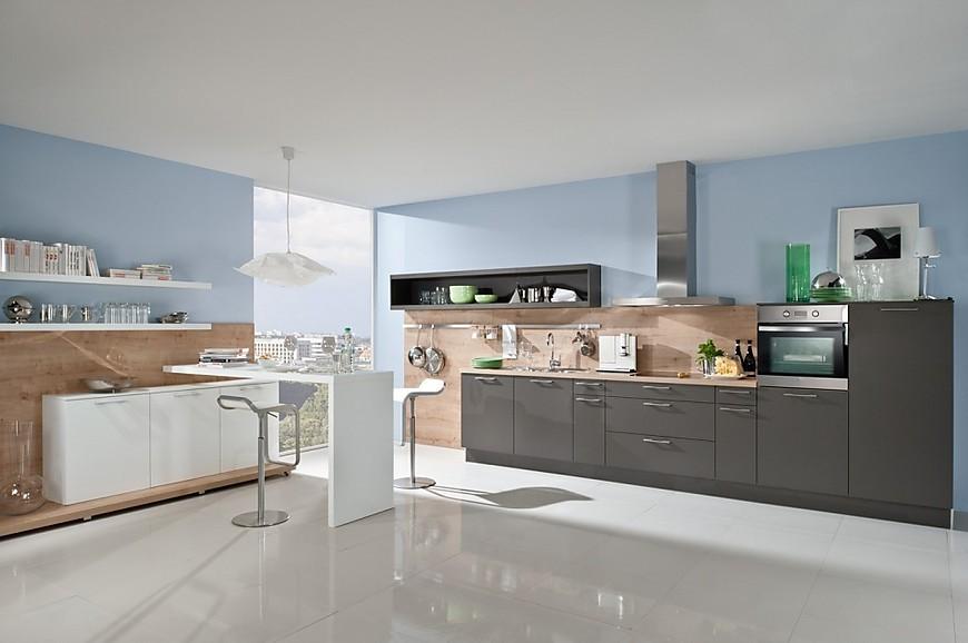 Fotos de cocina para inspirarse en la galer a de cocinas - Paneles imitacion madera ...