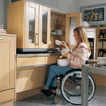 Dise ar una cocina sin barreras as puede planificar una cocina de f cil acceso - Planificar una cocina ...