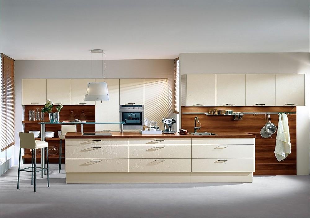 Isla de cocina y columna de electrodom sticos en magnolia for Ofertas encimeras cocina