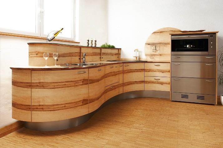 cocina redonda el fabricante de muebles de cocinas pfister nos presenta la cocina redonda en ola. Black Bedroom Furniture Sets. Home Design Ideas