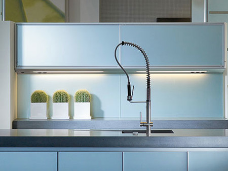 Entrepa os el espacio entre el mueble alto y la encimera - Planificar cocina online ...