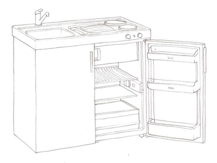 la minicocina es una solucin an ms compacta cbica y prctica que las cocinas pequeas se trata de un sistema muy compacto que combina componentes