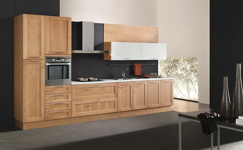 Modelo mantra libia madera de maple lacado for Muebles de cocina ocasion