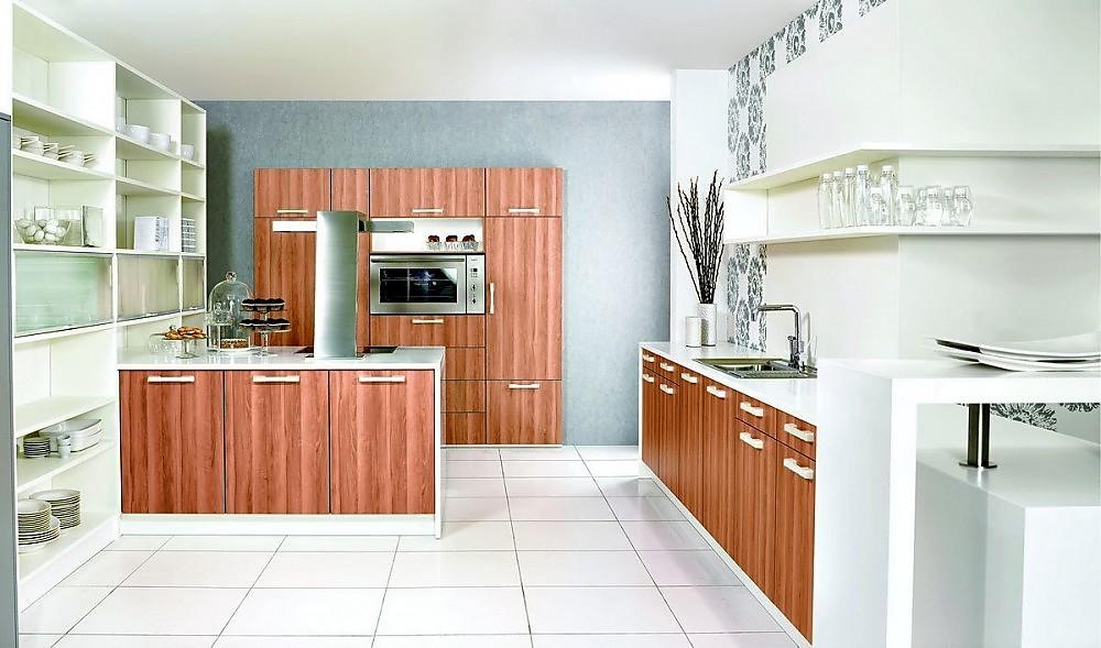 Muebles de cocina de alto standing for Isla cocina madera