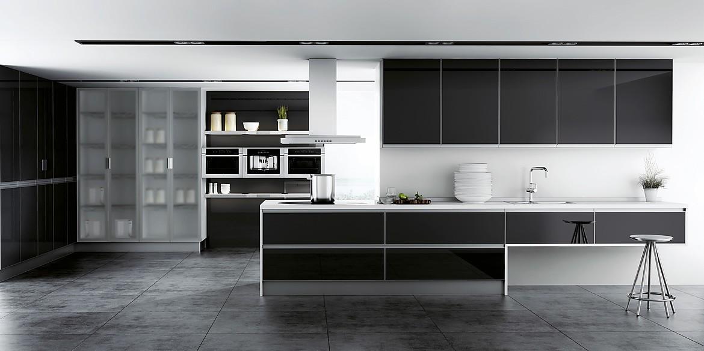 Look negro de lino alonso - Cocinas exposicion ocasion ...