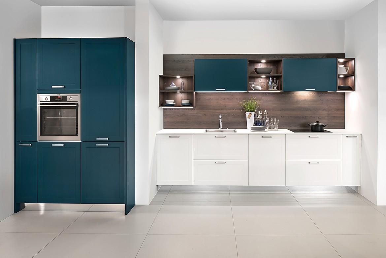 Cocina en linea mikron laca mate blanco deep blue for Cocinas en linea