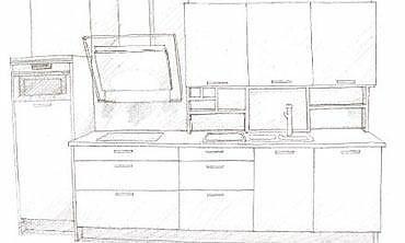 Dise o de cocinas gu a para dise ar y comprar una cocina for Disenar plano cocina
