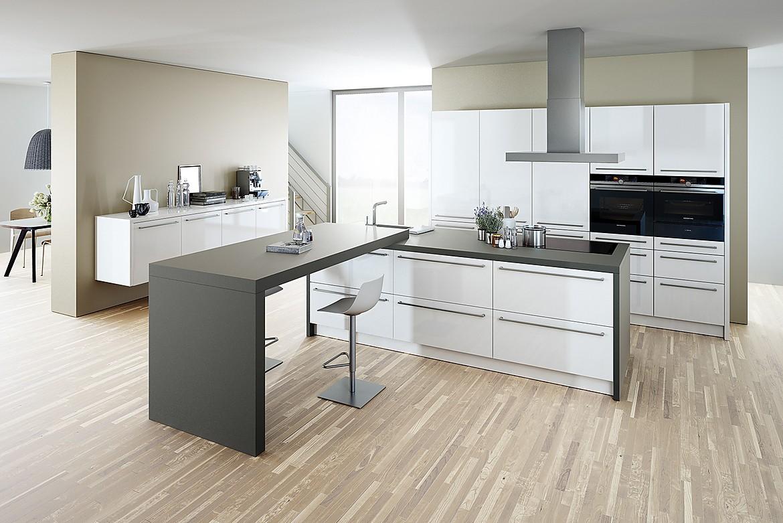 Cocina en laca blanca extramate - Cocinas schmidt opiniones ...