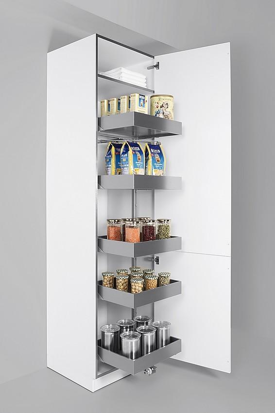 Armario columna despensero con cajones extra bles - Muebles despenseros para cocina ...